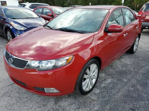 2012 Kia Forte for sale at Mars auto trade llc in Kissimmee FL