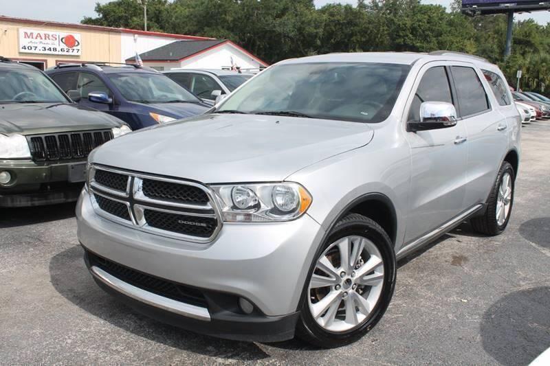 2011 Dodge Durango for sale at Mars auto trade llc in Kissimmee FL