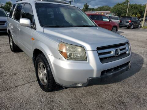 2006 Honda Pilot for sale at Mars auto trade llc in Kissimmee FL