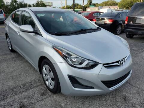 2016 Hyundai Elantra for sale at Mars auto trade llc in Kissimmee FL