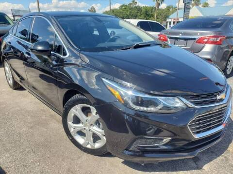 2017 Chevrolet Cruze for sale at Mars auto trade llc in Kissimmee FL