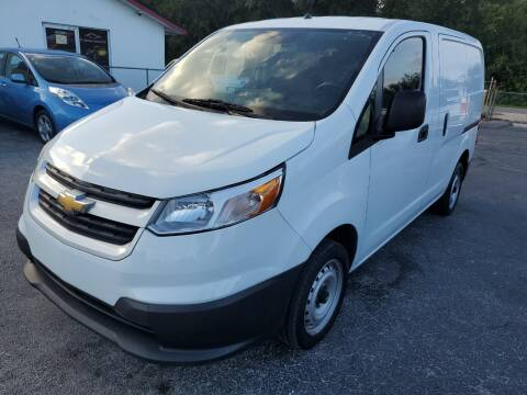 2015 Chevrolet City Express Cargo for sale at Mars auto trade llc in Kissimmee FL