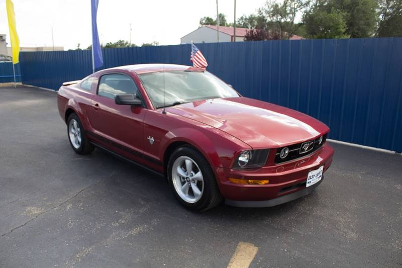 2009 Ford Mustang for sale at Easy Credit Auto Sales, Inc. in Wichita KS