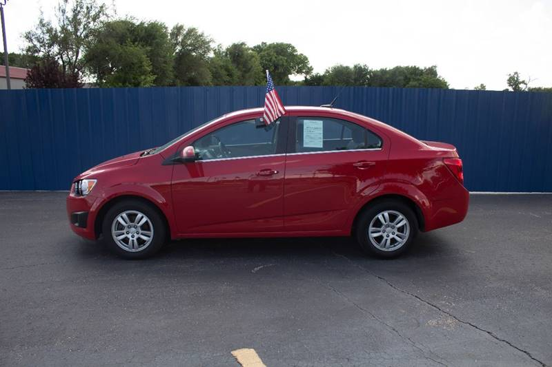 2013 Chevrolet Sonic for sale at Easy Credit Auto Sales, Inc. in Wichita KS
