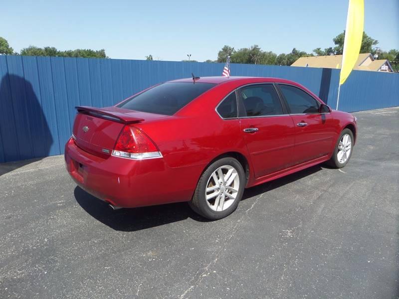 2013 Chevrolet Impala for sale at Easy Credit Auto Sales, Inc. in Wichita KS