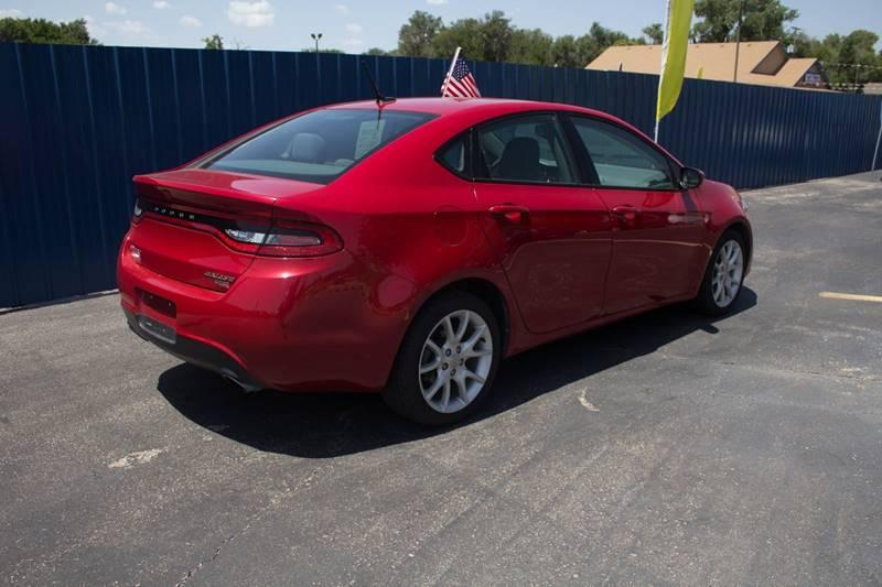 2013 Dodge Dart for sale at Easy Credit Auto Sales, Inc. in Wichita KS