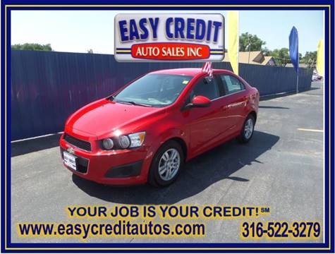 2012 Chevrolet Sonic for sale at Easy Credit Auto Sales, Inc. in Wichita KS