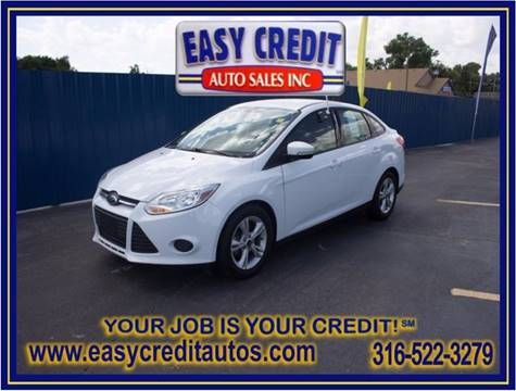 2014 Ford Focus for sale at Easy Credit Auto Sales, Inc. in Wichita KS
