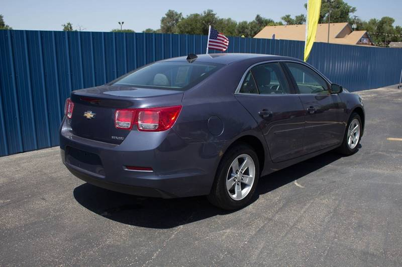 2013 Chevrolet Malibu for sale at Easy Credit Auto Sales, Inc. in Wichita KS