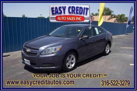 2013 Chevrolet Malibu for sale at Easy Credit Auto Sales, Inc. in Wichita KS
