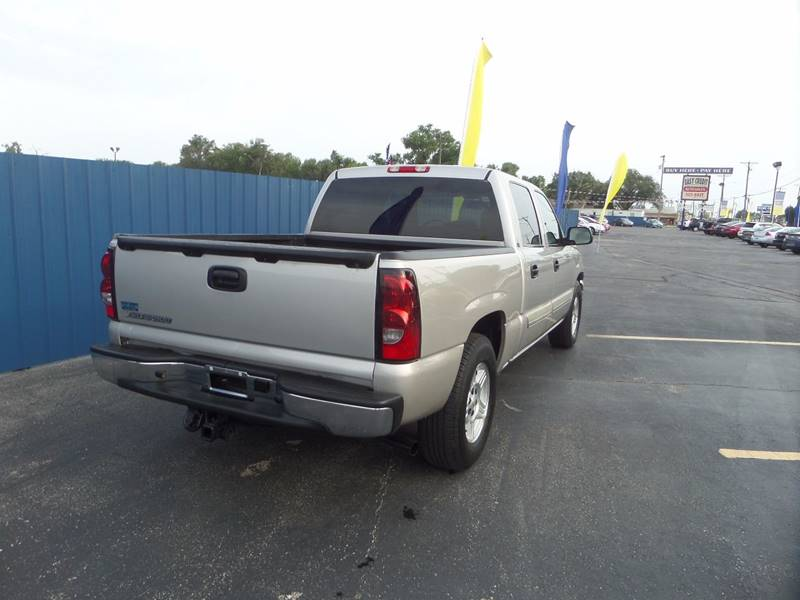 2006 Chevrolet Silverado 1500 for sale at Easy Credit Auto Sales, Inc. in Wichita KS