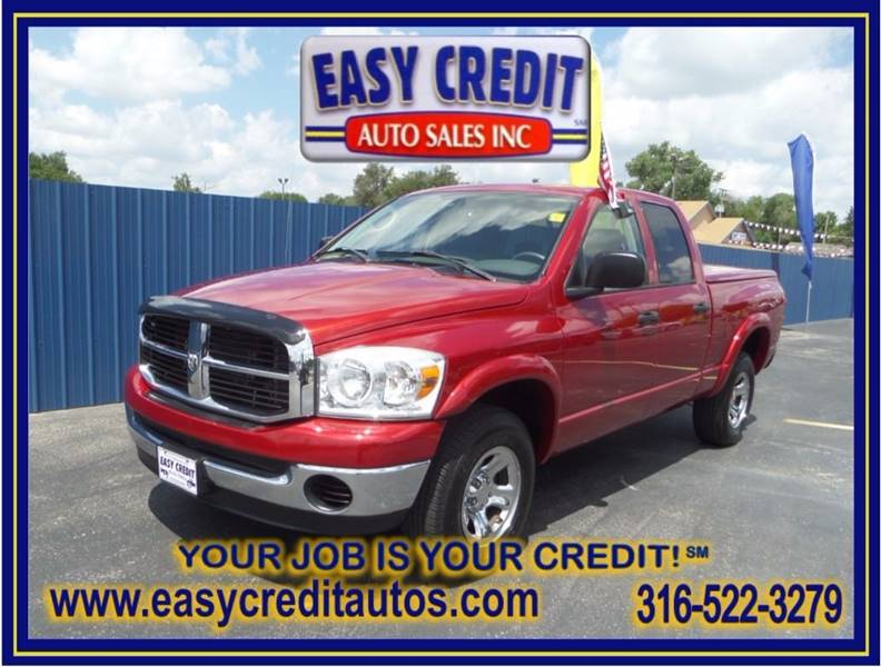 2008 Dodge Ram Pickup 1500 for sale at Easy Credit Auto Sales, Inc. in Wichita KS