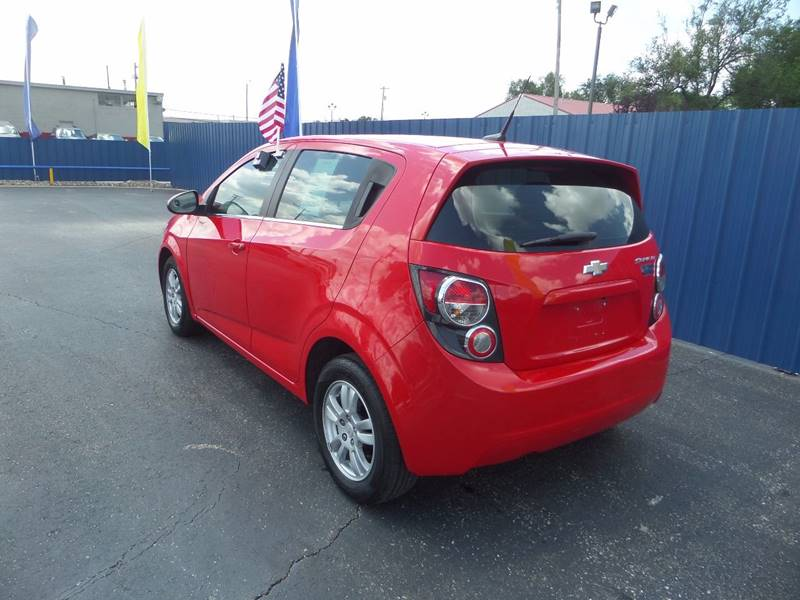 2014 Chevrolet Sonic for sale at Easy Credit Auto Sales, Inc. in Wichita KS