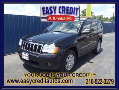 2008 Jeep Grand Cherokee for sale at Easy Credit Auto Sales, Inc. in Wichita KS