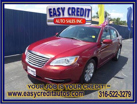 2014 Chrysler 200 for sale at Easy Credit Auto Sales, Inc. in Wichita KS