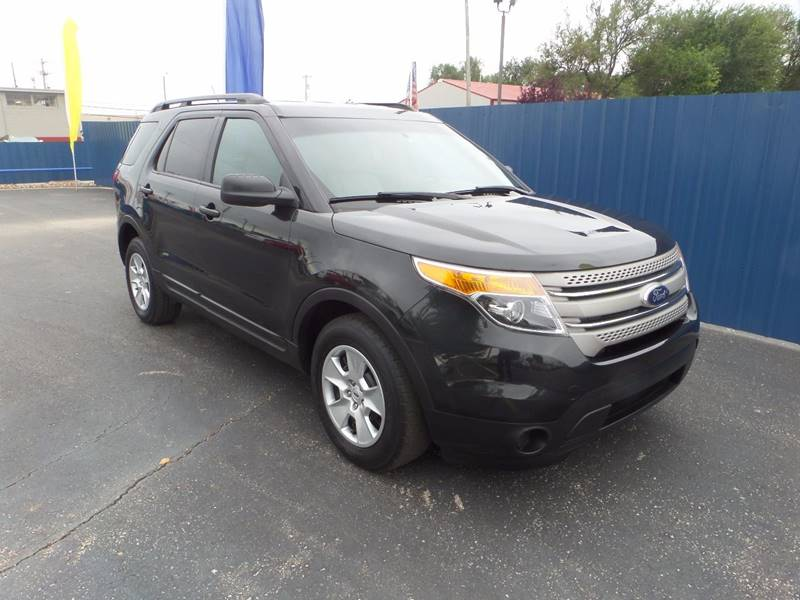 2014 Ford Explorer for sale at Easy Credit Auto Sales, Inc. in Wichita KS