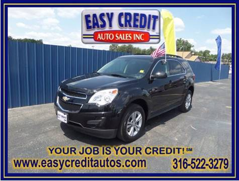 2010 Chevrolet Equinox for sale at Easy Credit Auto Sales, Inc. in Wichita KS