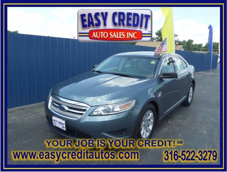 2010 Ford Taurus for sale at Easy Credit Auto Sales, Inc. in Wichita KS