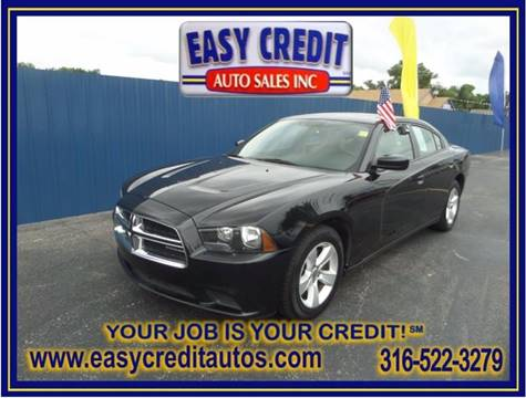 2012 Dodge Charger for sale at Easy Credit Auto Sales, Inc. in Wichita KS