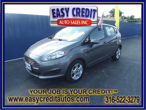 2014 Ford Fiesta for sale at Easy Credit Auto Sales, Inc. in Wichita KS