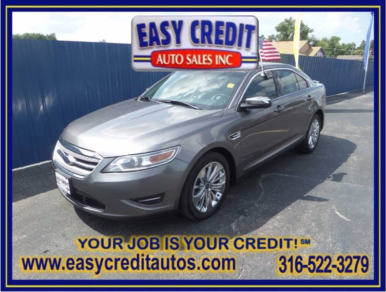 2011 Ford Taurus for sale at Easy Credit Auto Sales, Inc. in Wichita KS