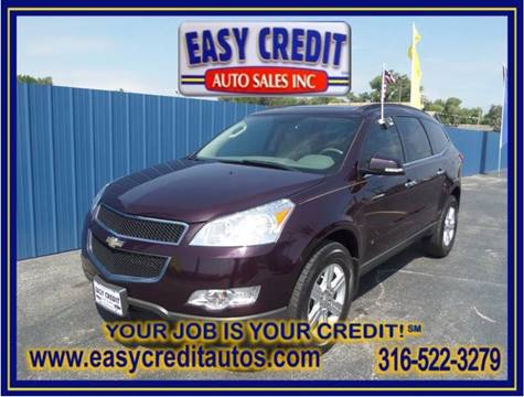 2010 Chevrolet Traverse for sale at Easy Credit Auto Sales, Inc. in Wichita KS