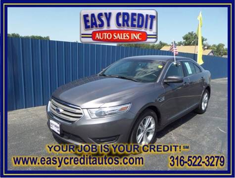 2014 Ford Taurus for sale at Easy Credit Auto Sales, Inc. in Wichita KS