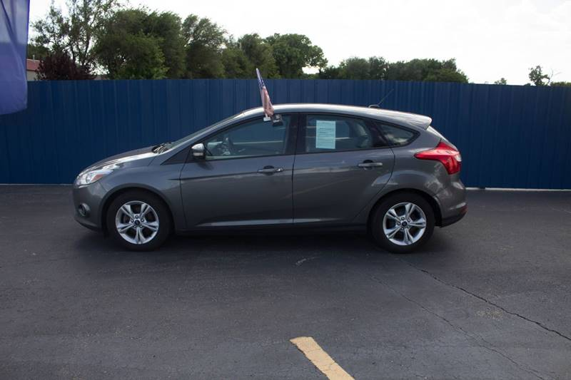 2013 Ford Focus for sale at Easy Credit Auto Sales, Inc. in Wichita KS