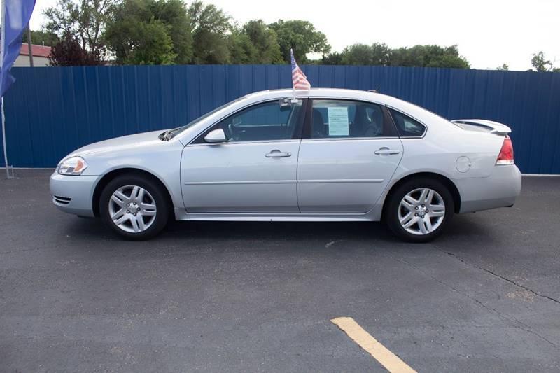 2012 Chevrolet Impala for sale at Easy Credit Auto Sales, Inc. in Wichita KS
