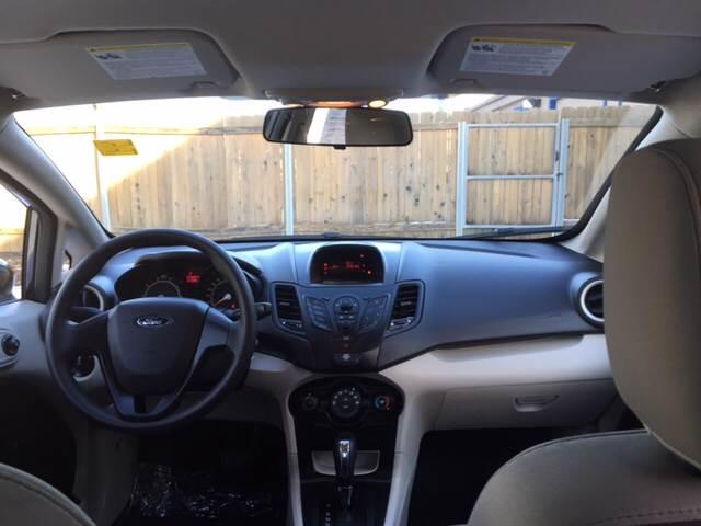 2013 Ford Fiesta S 4dr Sedan - Wichita KS