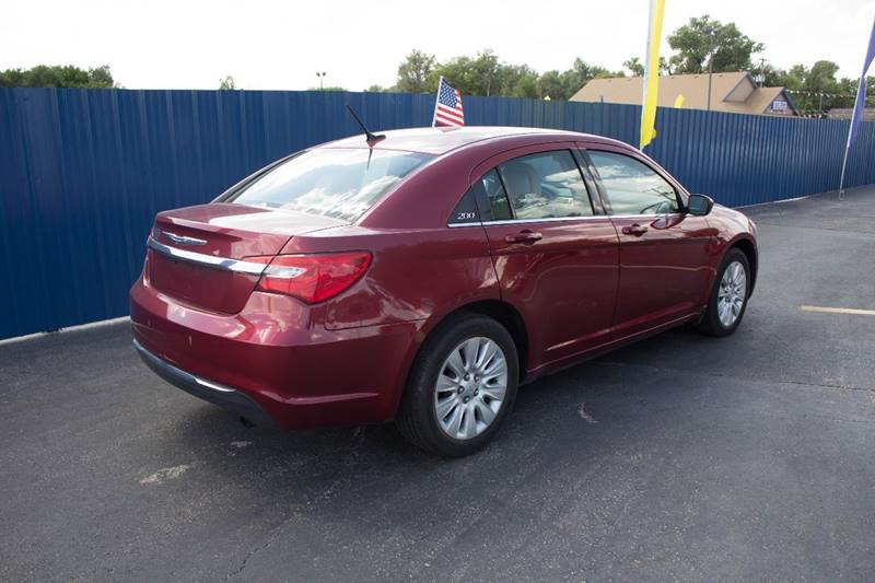 2013 Chrysler 200 for sale at Easy Credit Auto Sales, Inc. in Wichita KS