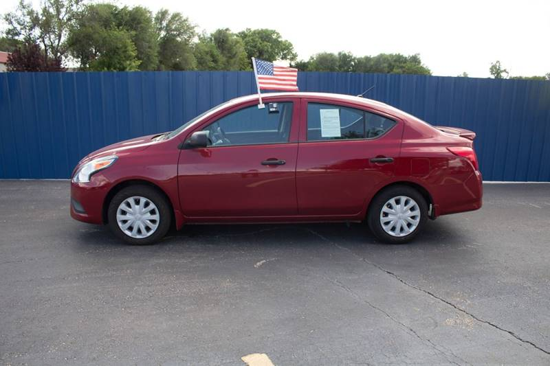 2015 Nissan Versa for sale at Easy Credit Auto Sales, Inc. in Wichita KS