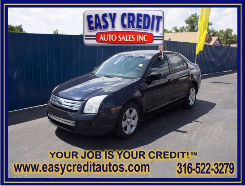 2009 Ford Fusion for sale at Easy Credit Auto Sales, Inc. in Wichita KS