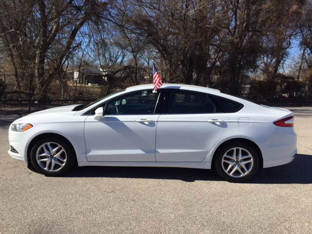2013 Ford Fusion SE 4dr Sedan - Wichita KS
