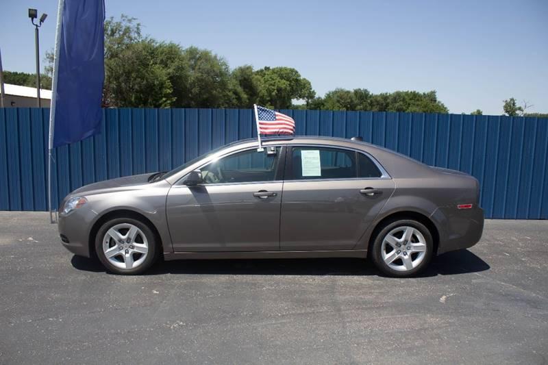 2012 Chevrolet Malibu for sale at Easy Credit Auto Sales, Inc. in Wichita KS