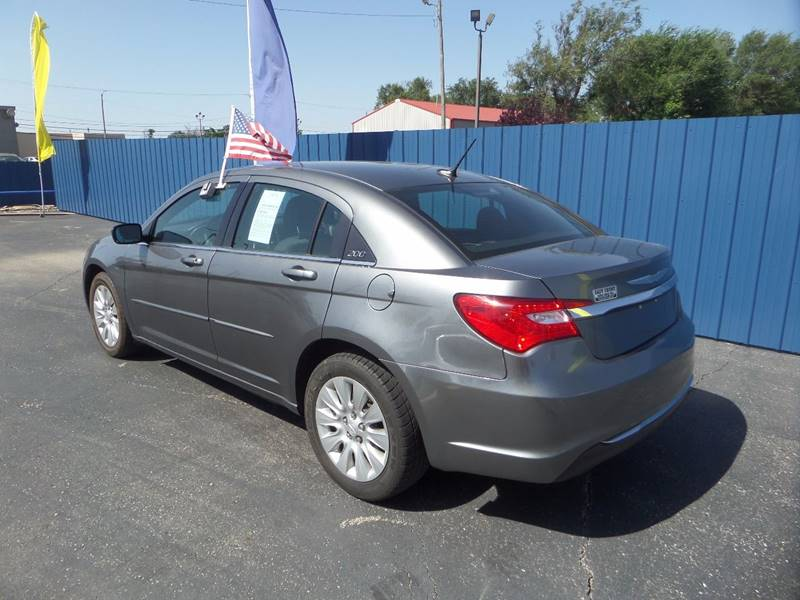 2012 Chrysler 200 for sale at Easy Credit Auto Sales, Inc. in Wichita KS