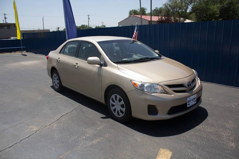 2011 Toyota Corolla for sale at Easy Credit Auto Sales, Inc. in Wichita KS