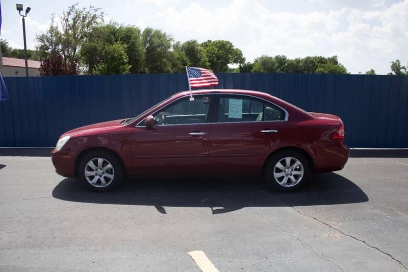 2008 Kia Optima for sale at Easy Credit Auto Sales, Inc. in Wichita KS