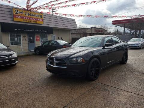 2nd Chance Auto Sales >> 2014 Dodge Charger Se 4dr Sedan In Montgomery Al 2nd