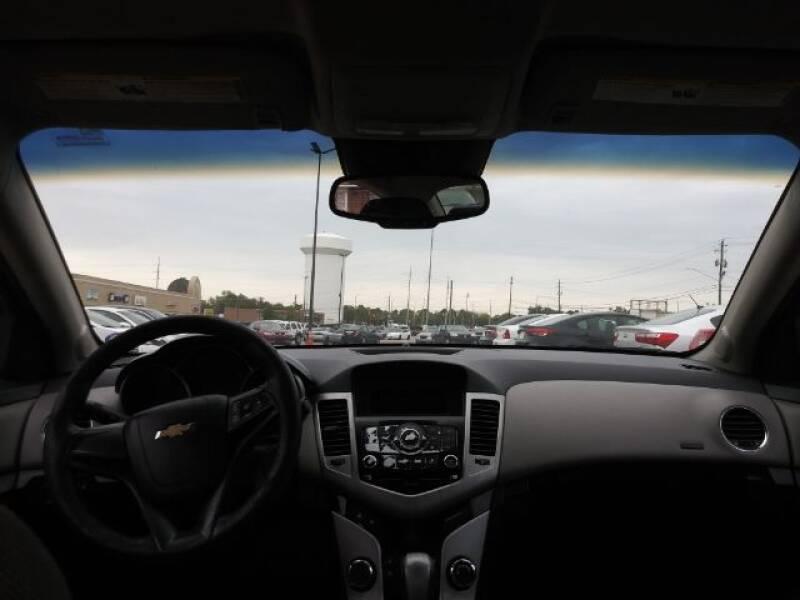 2012 Chevrolet Cruze LS 4dr Sedan - Montgomery AL
