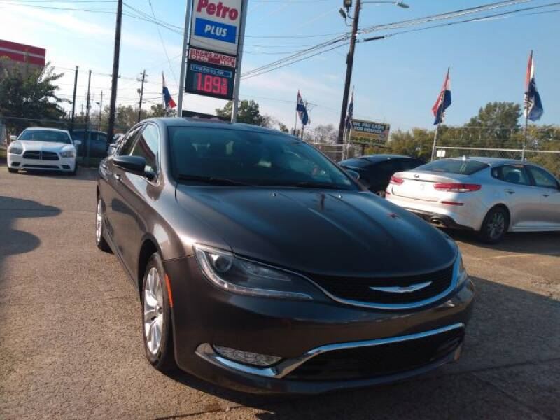 2015 Chrysler 200 C 4dr Sedan - Montgomery AL