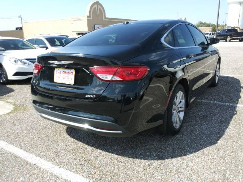 2016 Chrysler 200 Limited 4dr Sedan - Montgomery AL