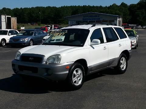 2002 Hyundai Santa Fe for sale in York, SC