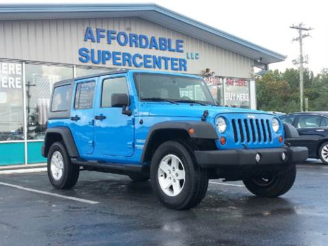 2011 Jeep Wrangler Unlimited for sale in York, SC