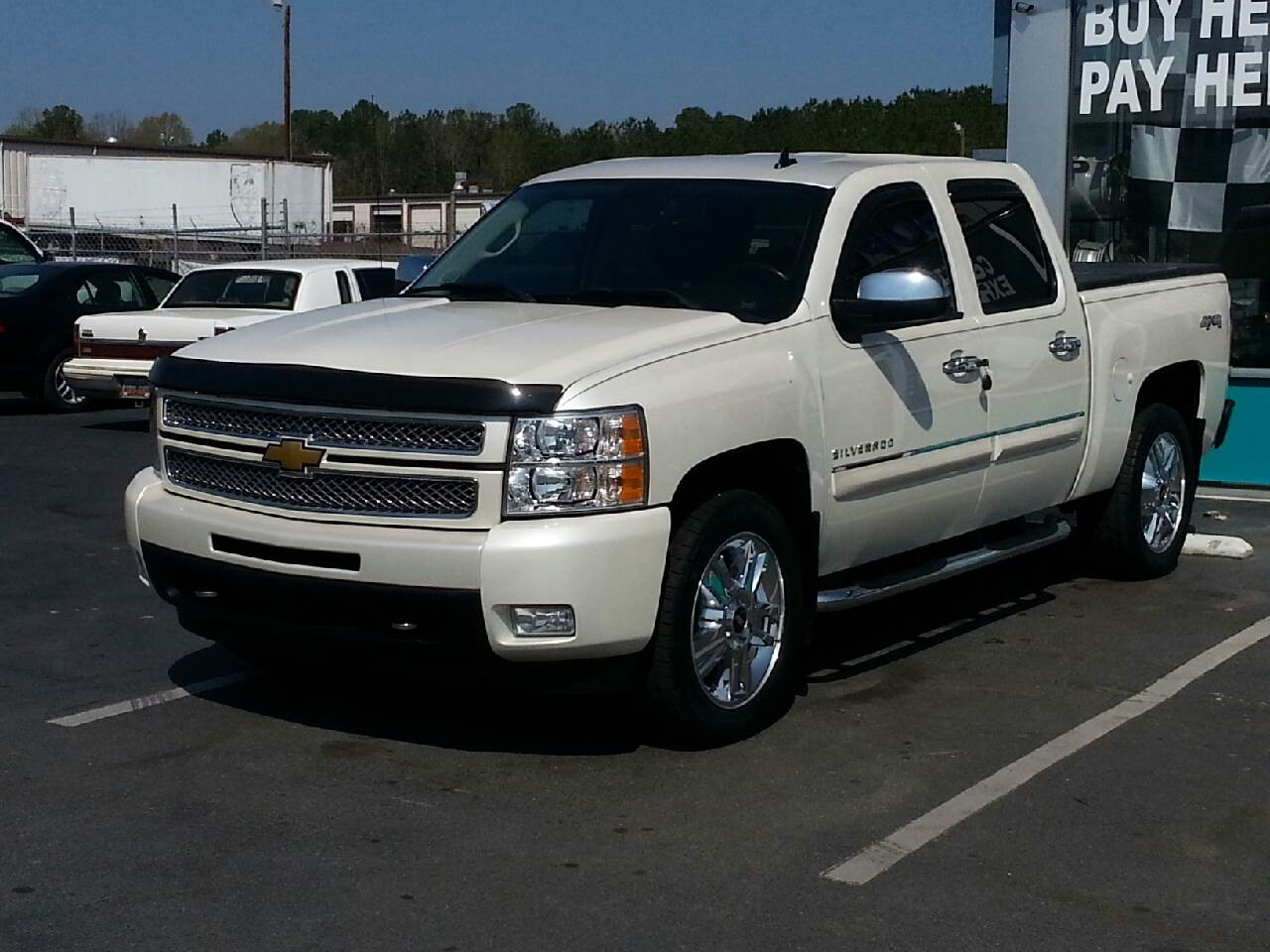 2012 chevrolet silverado 1500 4x4 ltz 4dr crew cab 5 8 ft sb in york sc affordable auto. Black Bedroom Furniture Sets. Home Design Ideas