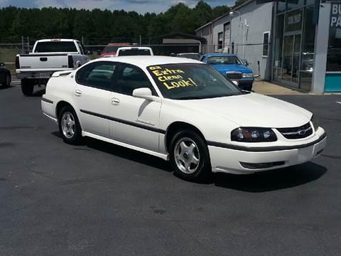 2002 Chevrolet Impala for sale in York, SC