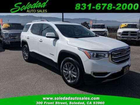 2019 GMC Acadia for sale at Soledad Auto Sales in Soledad CA
