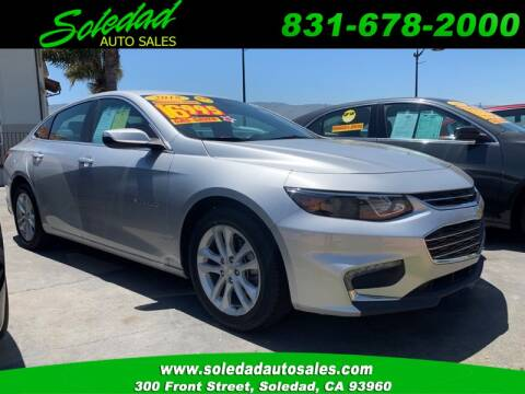 2018 Chevrolet Malibu for sale at Soledad Auto Sales in Soledad CA
