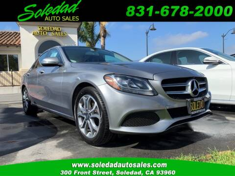 2016 Mercedes-Benz C-Class for sale at Soledad Auto Sales in Soledad CA