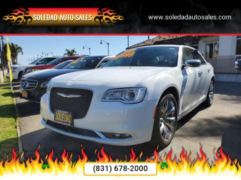 2018 Chrysler 300 for sale at Soledad Auto Sales in Soledad CA